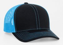 Pro-Model shape Cotton/poly-twill front panels Trucker mesh back