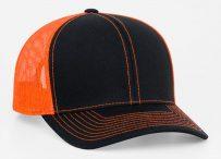 Pro-Model shape Cotton/poly-twill front panels Trucker mesh back