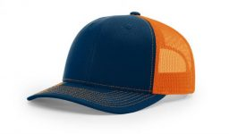 Cotton twill front panels and visor with mesh back panels