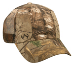 6 Panel 100% Polyester Mesh Back One Size Fits Most